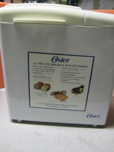 Oster Automatic Bread Maker Model: 5843 for 2 lbs Bread or Dough