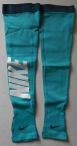Nike-Pro-Hyperwarm-Graphic-Arm-Sleeves-Dusty-Cactus-Blue-Size-Adult-XS-S-New