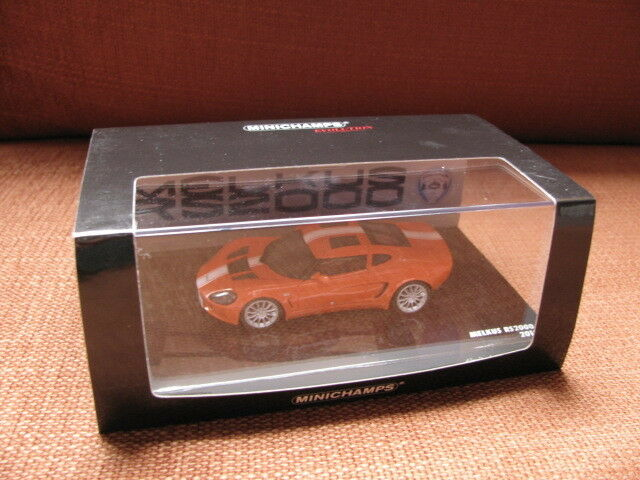 1 43 MINICHAMPS Melkus RS2000 RS 2000 (2010) LIMITED EDITION 750 pcs résine