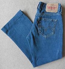 Women's Levis 927 Bootcut Jeans Size 12S (Eur 38S) W30 L27 Blue