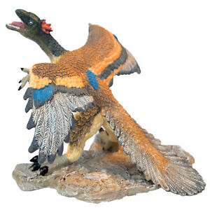 Large Realistic Archaeopteryx Solid Plastic Dinosaur Toy Educational Dino Figure
