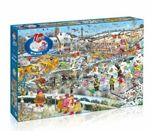 Gibsons-Jigsaw-Puzzle-I-LOVE-WINTER-Christmas-Snow-1000-puzzle