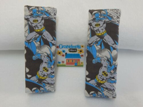 Batman Seat Belt Covers Cartoon Blue Child Car Seat Highchair Stroller Pram