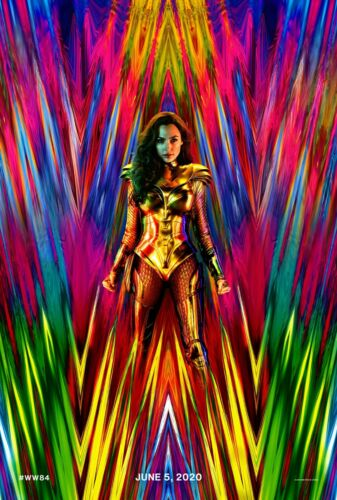 "Wonder Woman 1984 Movie Poster 18x12 30x20 36x24/"""