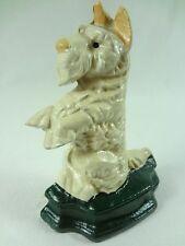 Fox Hund  13 cm Tier Türstopper Gusseisen   (H - 1 ) Neu