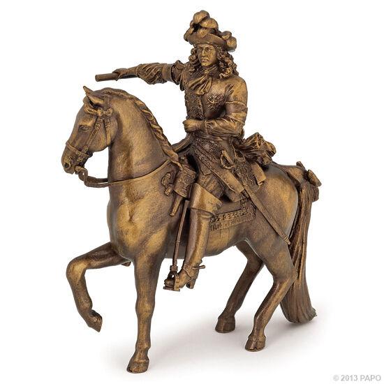 Di Animo Gentile Papo 39709 Ludovico Xiv Su Cavallo 11 Cm Storia