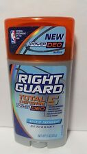 Right Guard Total Defense 5 PowerDeo Arctic Refresh Deodorant Solid Stick 3oz