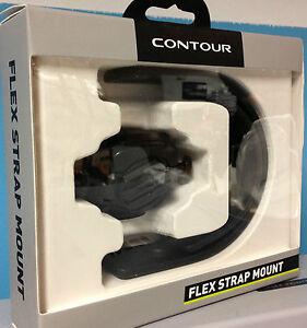 Contour Flex Strap Mount for Contour+2 ROAM/2 for Multi Bar Shapes Down Tubes