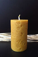 NATURAL HANDMADE BEESWAX CANDLES  - Complete  your set, combined shipping