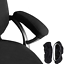 melaluxe 2 set polyester removable office chair armrest covers arm rest black