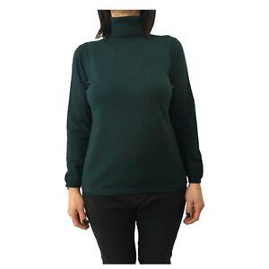Rinaldi collo con da verde Marina donna Maglia qwBYSPW