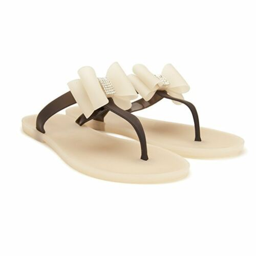 Chemistry® GINA Women/'s Shoes Flat Flip Flops Slip on Sandals Taupe