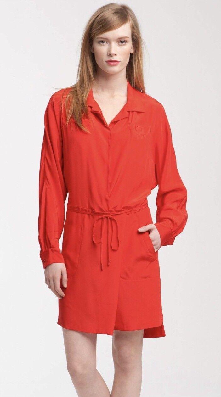NWT Diane Von Furstenberg DVF Rosatta Silk Dress Größe 2 NEW