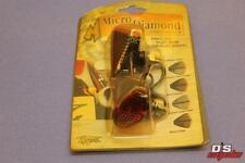 MOTRAX MICRO DIAMOND CARBON AMBER LENS PART# MIO3