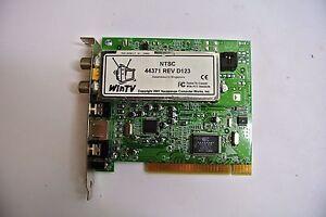 Hauppauge-WinTV-NTSC-44371-REV-D123-TV-Tuner-Card