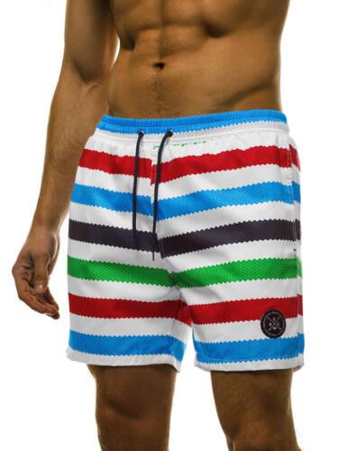 Pantaloncini Da Bagno Costume HERREN schwimmshort Shorts Pantaloni Uomo OZONEE 9773 MIX