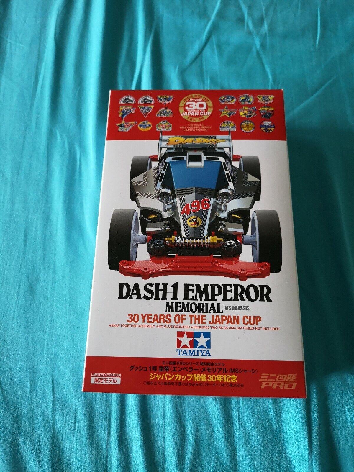 Tamiya Dash 1 Emperor Memorial 95110 Nuova Mini 4WD