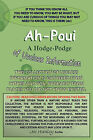 Ah-Poui: A Hodge-Podge of Useless Information by Joe Hanley (Paperback, 2010)