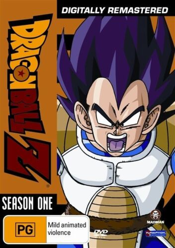 1 of 1 - Dragon Ball Z: Season 1 - Digitally Remastered NEW R4 DVD