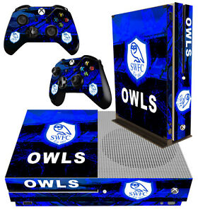Analytique Xbox One S Fin Console Autocollant Sheffield Football Format Soccer Skin & Pad