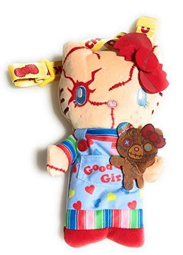 Hello Kitty Chucky /& Bear/'s Plush Doll USJ Halloween 2018 Pass Case Pouch Strap