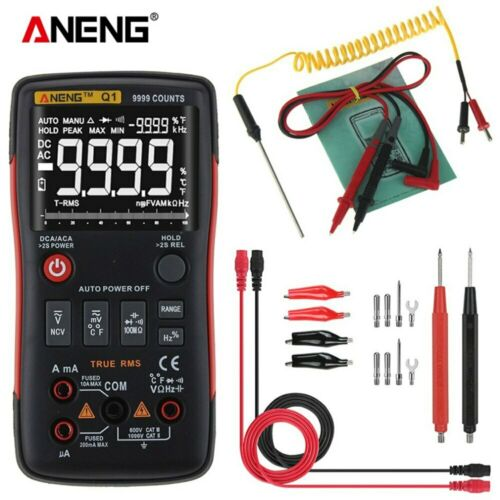 ANENG Q1 LCD Digital Multimeter Mit Analog Bar Graph AC//DC Strom Tester Meter DE