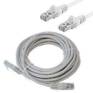 lan internet netzwerk kabel cat 5e 10 meter patchkabel f r dsl internet pc ebay. Black Bedroom Furniture Sets. Home Design Ideas