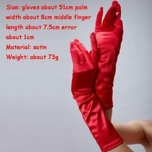 LADIES-WOMENS-PARTY-DRESS-PROM-EVENING-WEDDING-BRISAL-LONG-FINGER-GLOVES-SS3