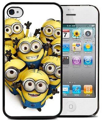 ★★★Coque BUMPER iphone 4/4s & 5/5s-moi moche et méchant ,minions COEUR ★★★