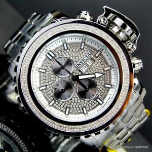 Invicta-Sea-Hunter-II-70mm-2-ctw-Diamonds-Swiss-Automatic-High-Polish-Watch-New