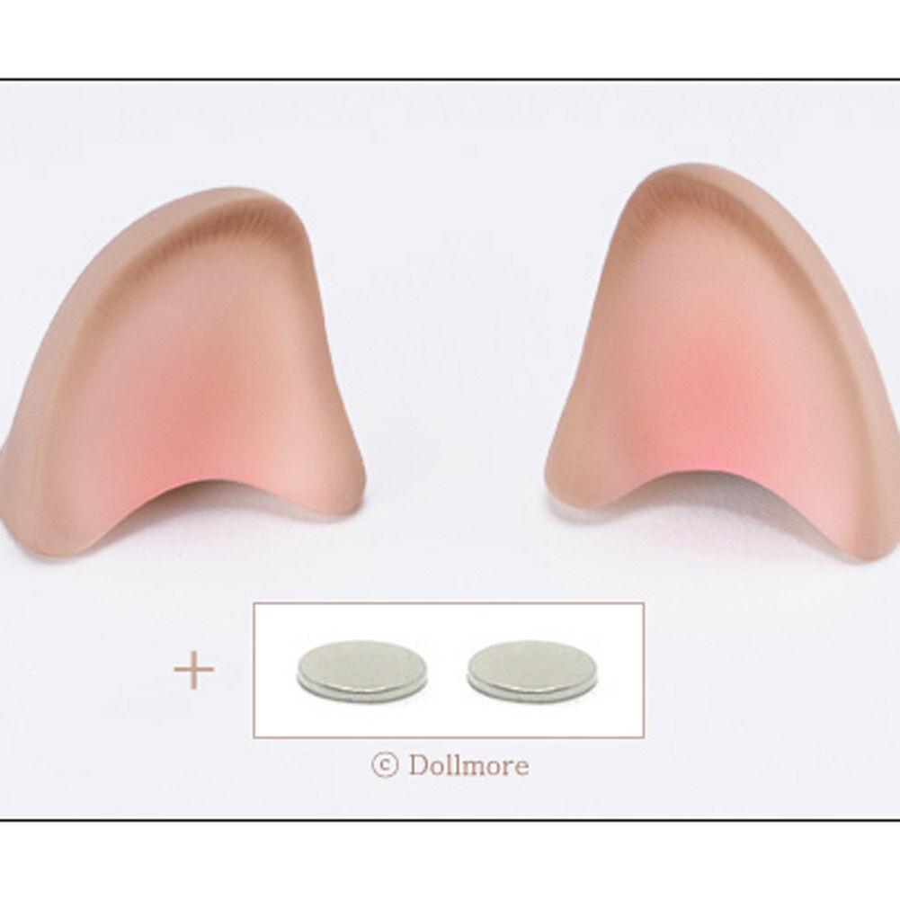 1/3 70cm BJD Dollmore Part - Cute kitty Ears(Weiß Skin)(M Größe, Braun blushed)
