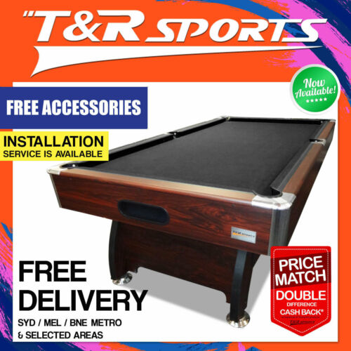 7FT Timber Pool Table Snooker Billiard Table