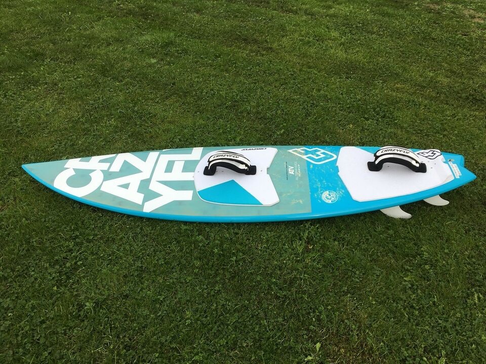 "Kiteboard, Crazyfly ATV, str. 6'0""x 19 1/8"" x 2 1/4"""