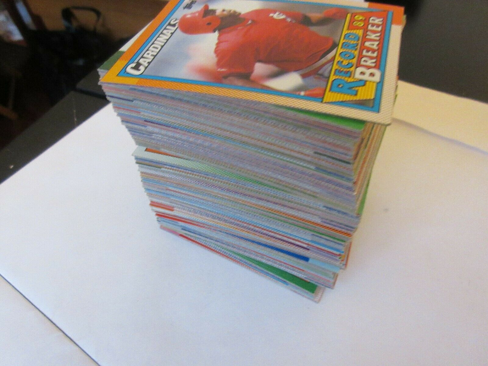 1990 Topps Baseball Cards , 215 Cards , Mostly Commons