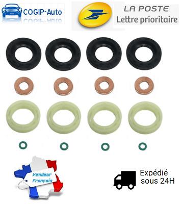 MIFASA Lot de 16 Joints dinjecteur pour Peugeot 207 307 407 Expert Partner 1.6 HDI 2004