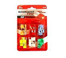 Intelligente KFZ Sicherungen mit STATUS-LED Satz 37 Stück + Abzieher ASP 5 - 30A