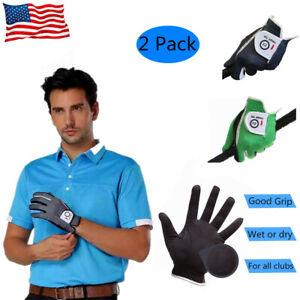 Mens-Left-Handed-Golf-Gloves-Footjoy-2-Pack-No-Slip-Breathable-FJ-Taylormade