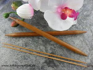 1 aiguille jeu en bambou tricot aiguilles 13 CM, 2 - 10 MM, NEUF  </span>