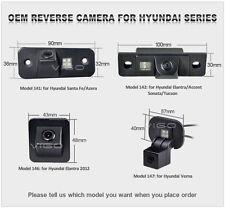 Rear View Camera for Hyundai Santa Fe i30 ix35 Tucson Reverse Backup Parking Cam