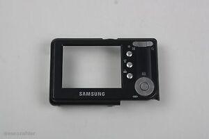 Samsung Digimax S500/Cyber530 Backcover Gehäuse hinten Dunkelgrau ohne Displa...