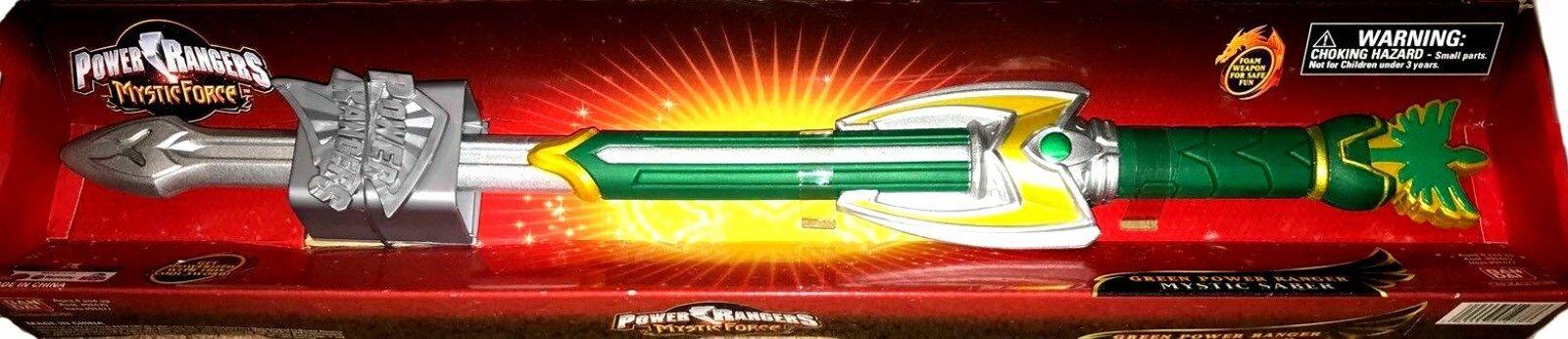 Power rangers mystische kraft 21  - grüne mystic säbel neue fabrik versiegelt, 2005