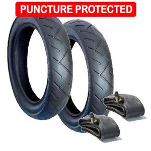 Out n About DOUBLE Crevaison Resistant Heavy Duty pneu et tube intérieur Set
