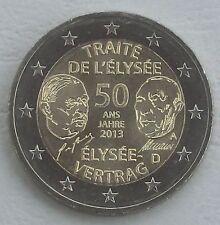 2 euros Alemania a 2013 elíseo-tratado unz