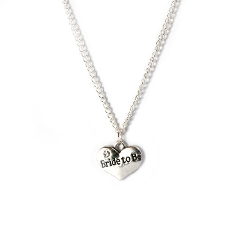 Maid of honour necklace favour bridal shower gift Silver plated chain gift box