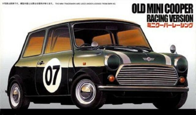 Fujimi Rs 63 Rover Mini Cooper 1 3i Racing Car 124 Kit Ebay