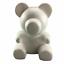 Polystyrene Styrofoam White Foam Bear Mold Diy Valentine/'s Day Party Gifts