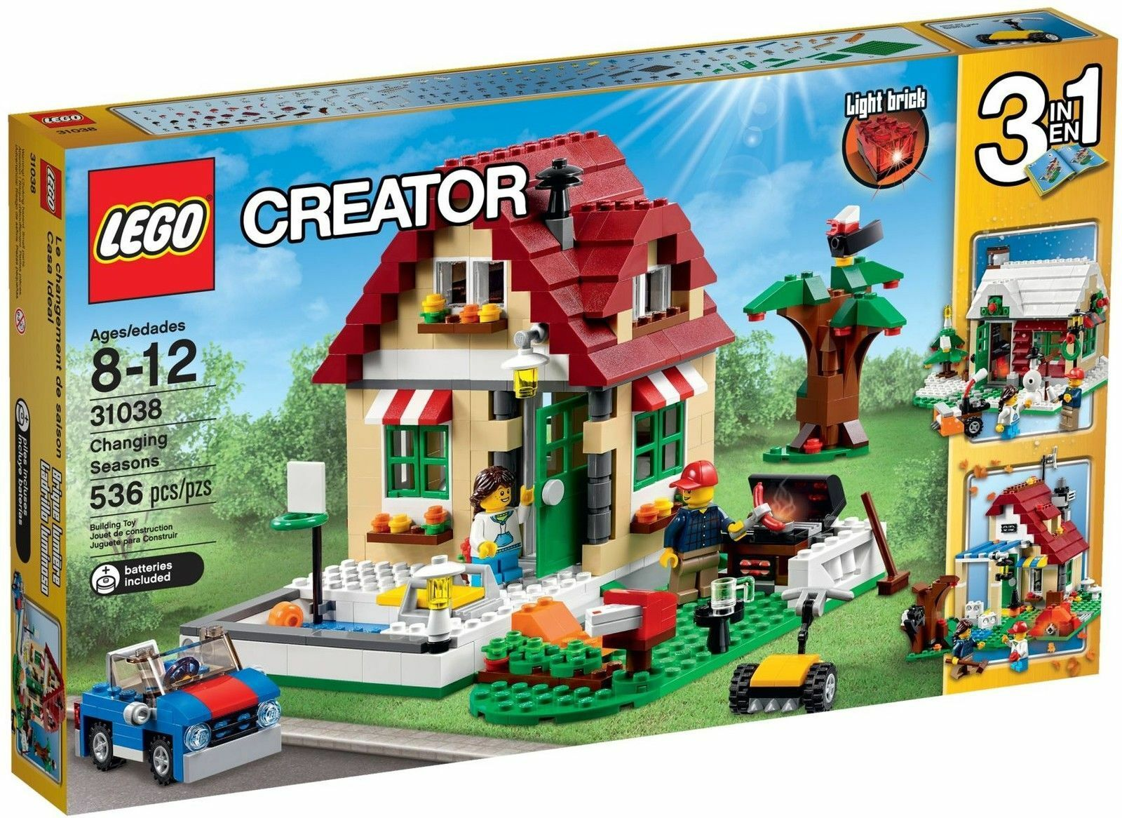 LEGO® Creator 31038  Wechselnde Jahreszeiten  3in1 Modell Kreativität NEU OVP