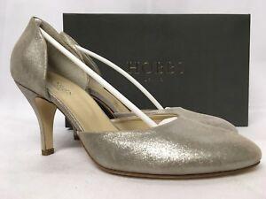 £139 Silver Rrp Sizes Suede Various Sophia Heels Hobbs Metallic 8UqF4xT