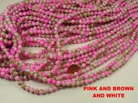 Wholesale Lot 500+ Pieces 8mm Round Glass Beads (ns-12)