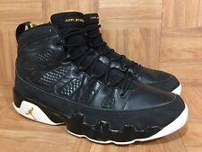 RARE�� Nike Air Jordan 9 IX Retro Black Citrus White Sz 12 302370-004 2010 Worn